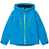 Isbjörn Of Sweden Turquoise Carving Winter Jacket