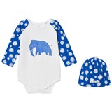 Noe & Zoe Berlin Blue Mammoth Hat and Body Gift Set