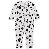 Noe & Zoe Berlin Black Seal Printed Footless Babygrow