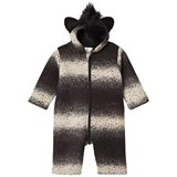 Noe & Zoe Berlin Black Skunk Faux Fur Ear Hood All In One
