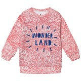 Noe & Zoe Berlin Pink Fur Printed Wonderland Sweater