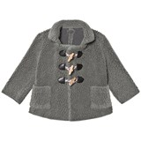 Bobo Choses Grey Wool Toggle Jacket