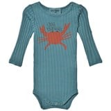 Bobo Choses Blue Crab your hands Long Sleeve Body