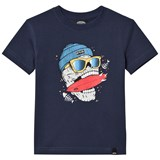 Animal Navy Graphic Skate T-Shirt