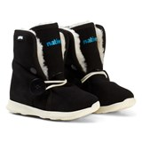 Native Black Luna Water Repellent Fleece Lined Boots