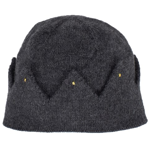 Oeuf Charcoal Grey Crown Beanie Hat  8ae61d33d6d