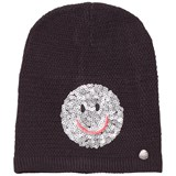 Barts Black Smiley Face Beanie