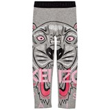 Kenzo Kids Grey Marl Tiger Print Leggings