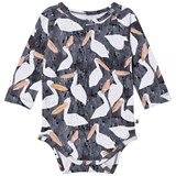Noe & Zoe Berlin Black Stork Printed Body