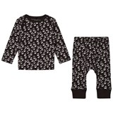 Stella McCartney Kids Black All Over Print Set
