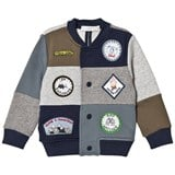 Stella McCartney Kids Multi Patch and Badge Sweat Bomber