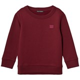 Acne Studios Burgundy Mini Fairview Sweatshirt