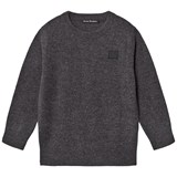 Acne Studios Charcoal Melange Mini Nalon Jumper