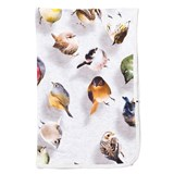 Molo Grey Bouncing Birds Neala Blanket