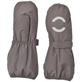 Mikk-Line NYLON mittens Dark grey