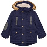 Mayoral Navy Padded Hooded Parka