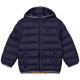 Mayoral Navy Lightweight Padded Hooded Coat