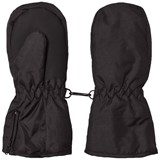 Mikk-Line THINSULATE mittens w/zip Black