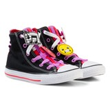 Converse Black Chuck Taylor All Star Emoji Energy Loophole Hi Tops