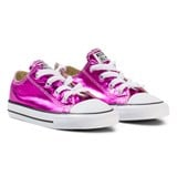 Converse Metallic Pink Chuck Taylor All Star Ox Trainers