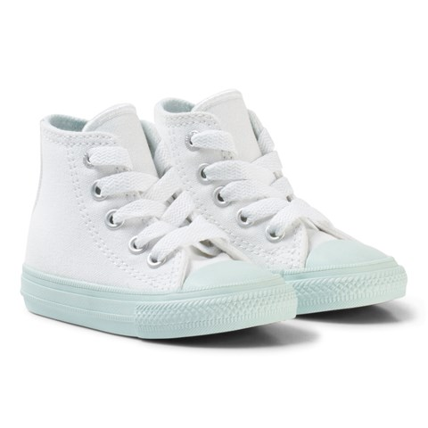 Converse White Chuck II All Star Hi-Top with Mint Sole