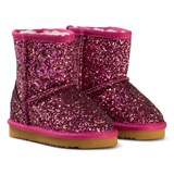 Lelli Kelly Pink Diamante Fuchsia Sandra Shearling Ankle Boots
