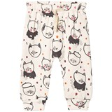 Soft Gallery Meo Pants Cream Melange, AOP Kittens