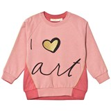 Soft Gallery Babs Sweatshirt Rosette/Faded Rose, Love Art