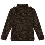 Soft Gallery Fayenne Top Jet Black, AOP Minidots