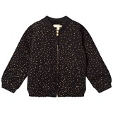 Soft Gallery Dagny Jacket  Jet Black, AOP Dotties