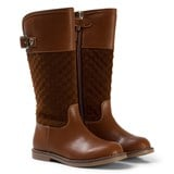 Mayoral Tan Padded Tall Boots
