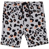 The BRAND Leopard Biker Swim Shorts