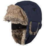 Kuling Navy Faux Fur Winter Hat