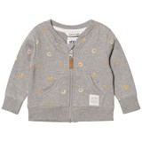 eBBe Kids Elvo Sweat Jkt Soft Gold Swirls