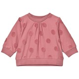 Molo Pink Spot Detail Sweater