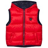 Mayoral Navy and Red Reversible Gilet
