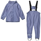 Mikk-Line PU RAIN set - Campaign Blue ice Purple