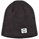 Mikk-Line Dark Grey Melange Wool Hat