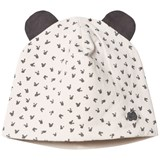 The Bonnie Mob Reversible Baby Beanie Hat, Aop Print Sand