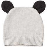 The Bonnie Mob Pale Grey Hat With Ears