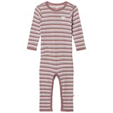 Hummel Kids Pink and Grey Sesse Bodysuit