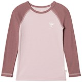 Hummel Kids Alta Ls Tee Aw17 Burnished Lilac