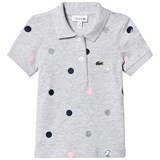 Lacoste Grey Multi Spot Polo