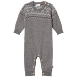 Hust&Claire Ribbed Coveralls Grey Blend