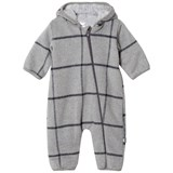 Hust&Claire Coveralls Light Grey Melange