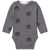 How To Kiss A Frog Body Print Allover Tiger Dk Grey