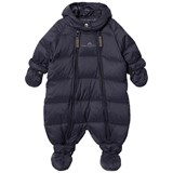 Ver de Terre Featherlight Baby Wintersuit Navy