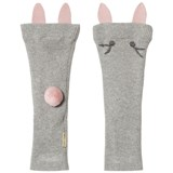 Hust&Claire Leg Warmers Light Grey Melange