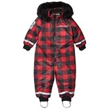 The BRAND Overall Checked Red With Black Fur