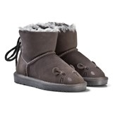 Petit by Sofie Schnoor Boot Teddy W. Lace Mouse Dark Grey